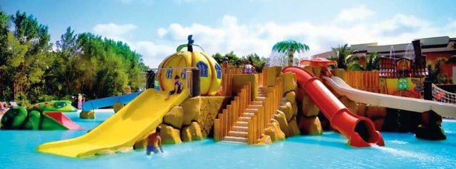 One of several kids pools in the Bahia Principe complex.