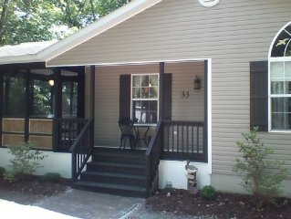 Beautiful Quiet Beach Home in the Pines Close to Everything