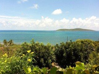 Coakley Bay Condo Beautiful Carribbean View of Buck Island