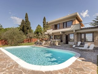 Luxury Panoramic Villa with swimming pool in Florence - Tuscany
