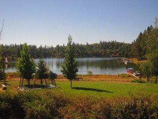 Gorgeous Lake Home On Private California Lake