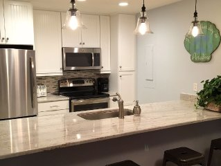 Totally renovated Palmetto Dunes Villa just steps from the beach.