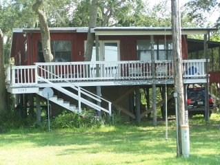 The TreeHouse, Pet Friendly, Open Gulf , Private Dock
