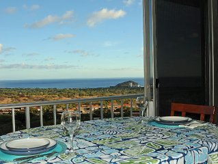 Breathtaking Ocean and Mountain View 1BD/1BA Condo-Completely Renovated