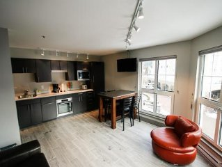 Brand new unit - fully updated with the best location and views of Blackcomb
