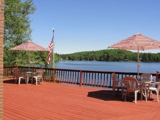 Waterfront Lake House Perfect for any Season