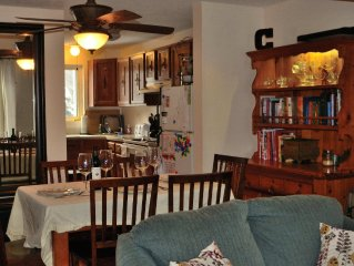 Close to EVERYTHING, Family, Baby and Pet Friendly, Walk to Village