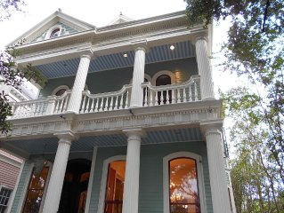 The Byrnes House - Classic Garden District Greek Revival Home