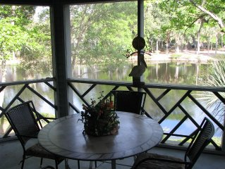 Premier Rated Villa 2BR/2BA - Lagoon View -