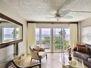Luxurious Beachfront Condo - Walk to Everything - Best Location in Vero Beach