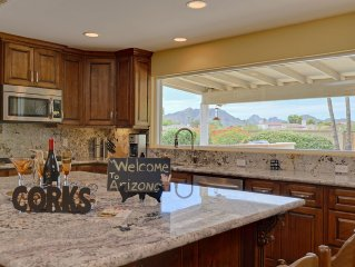 Stunning 3 Bdrm/2 Ba Home w/Mountain Views, Pool in Resort Like Private Backyard