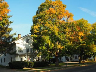 Elegant Newly Renovated 19th Century New England 2BR Vacation Rental