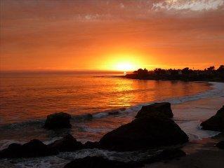 Oceanfront Santa Cruz Beach House - Pet Friendly