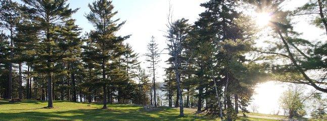 Sonju Trail along Burlington Bay, Lake Superior just blocks from the property