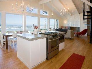 Modern Luxury Oceanfront - Private Beach Access-180o Views