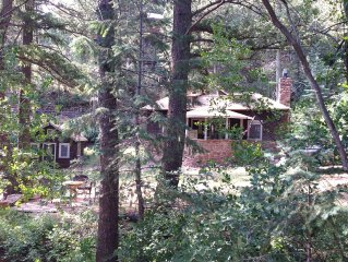 Charming, historic, Cascade Cabin nestled at the base of Pikes Peak.