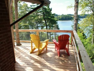 Highview Three Season Cottage - 3 Bedroom,  1 Bath, 3 Deck Private Waterfront