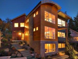 Modern Luxury, Puget Sound Views, in Seattle!