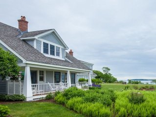 Gorgeous Views of Penobscot Bay and the Samoset Resort's Golf Course