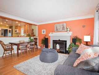 Stylish and Spacious 1950's 3 Bdrm in Victoria- Great Location!!