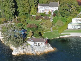 1.7 Acre, 8000 Sq/Ft Luxury Waterfront Mansion Nestled In A Private Cove