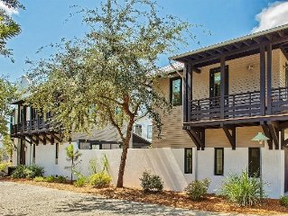 30A Escapes `Timeless` Luxury Rosemary Beach Vacation Rental House on East Water