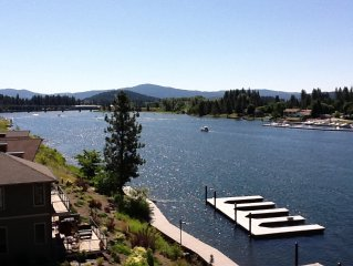 Coeur d'Alene waterfront condo central to everything