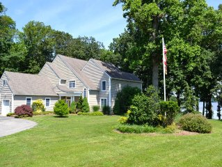 Wow!  Secluded waterfront home on Maryland's Charming Eastern Shore