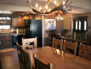 Red Lodge Cabin, Red Lodge Ski Resort, Fly-fishing, Hiking, Family Friendly