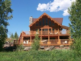 Paradise in Montana Log Home