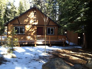 Comfortable Mountain Escape In The Breathtaking Tahoe Donner Vacation Community