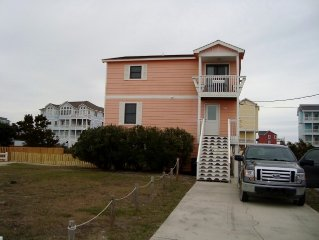 Rodanthe Daze, Pet Friendly and Unlimited Pier Pass