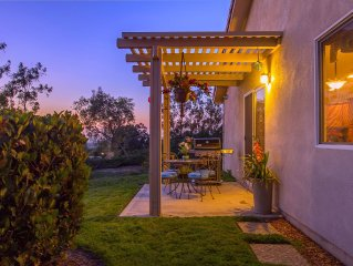 CASA del SoL: Private Home in Wine Country - Sunset and Hot Air Ballooon Views!