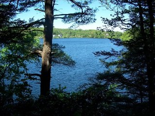 OTIS -- Waterfront on Big Pond and Benton Pond Plus 43 Acres of Private Trails