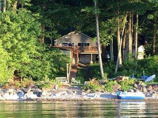 The Secret Cove Natural Lakefront, Silver Maple Cabin,