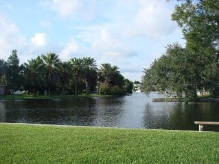 Beautiful Waterfront View, see Manatee's from Backyard. Call/Email for available
