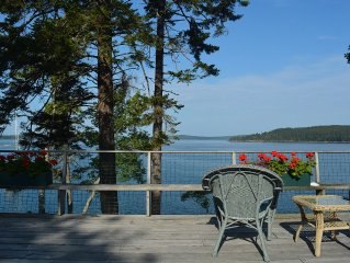 Spacious, comfortable summer home next to Acadia National Park
