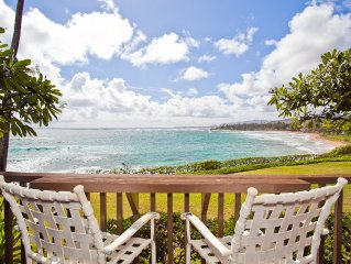 Oceanfront on Kauai starting at $140/night!