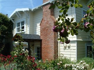 Delightful Craftsman Home in Tranquil Gardens in Old Pt Reyes