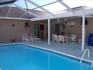Luxury, 4 Bedroom Pool Home. Quiet Neighborhood,