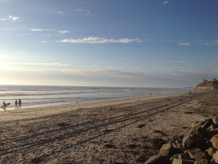 Del Mar Beach Condo, just steps from San Diego's best beach