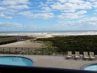 Ocean Front Condo with Gorgeous Ocean Views from Master and Living