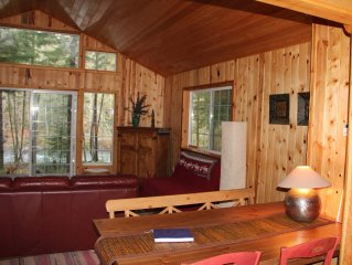 Riverfront Cabin with Panoramic Views, Hot Tub & Seclusion