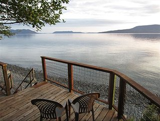 San Juans - Lummi Island Home for couples & group get-aways
