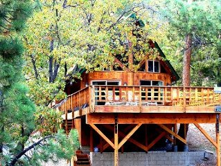 Great Family Getaway * Best Cabin * SPECIAL LOCATION * Cabin w/ Hot Tub & View!