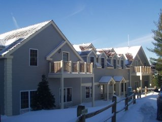 New Rates! BEAUTIFUL Ski-In/Ski-Out - Jiminy Peak Mountain Resort - Berkshires