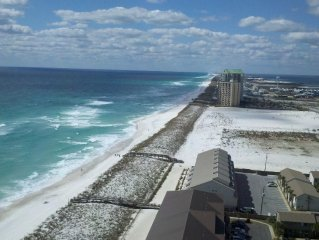 Extra Special late Spring Rates! Amazing Gulf front Penthouse sleeps 8 - 3bd/3ba