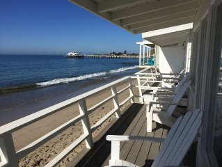 Malibu Carbon Beach Oceanfront Bungalow Eight