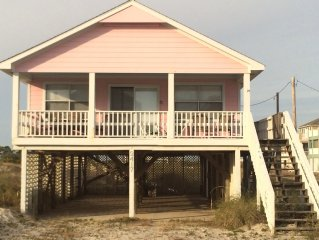 The Pink Palace, the perfect beach house for your beach vacation!