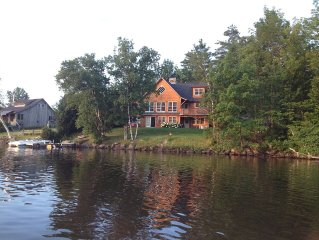 New Home, New Listing, on scenic Lake Elmore, 14 miles from Stowe Resorts